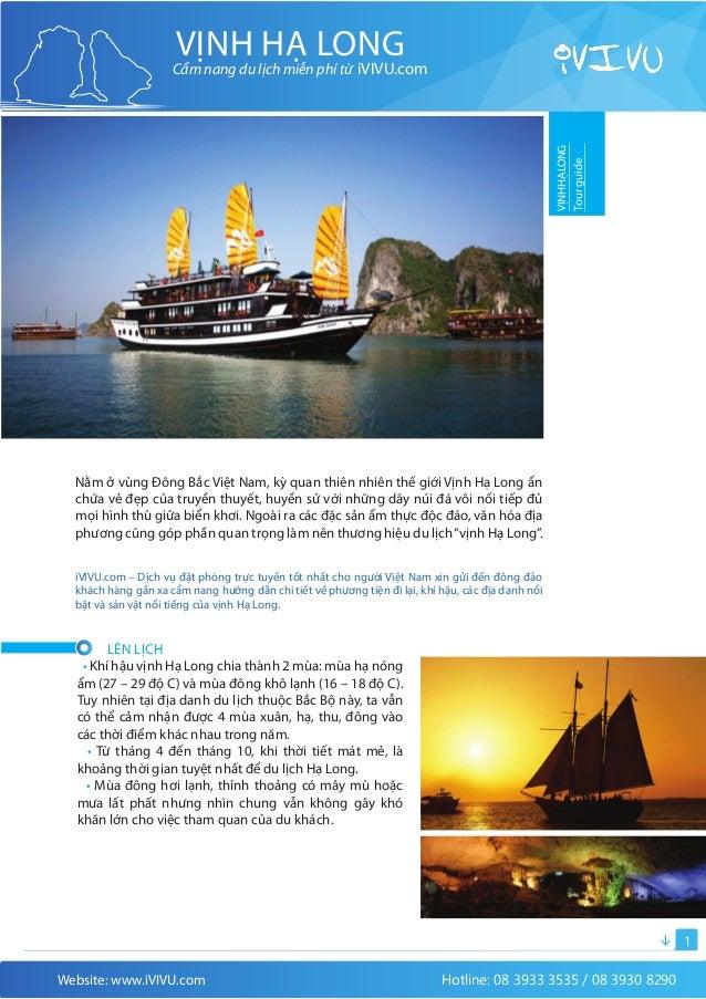VỊNH HẠ LONG                     Cẩm nang du lịch miễn phí từ iVIVU.com                                                   ...