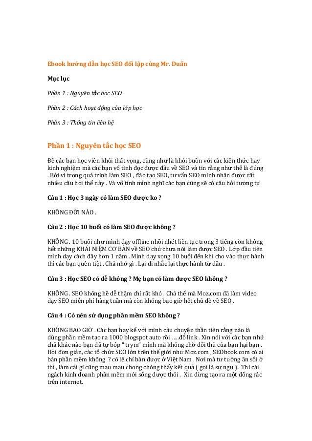 Ebook  hướng  dẫn  học  SEO  đối  lập  cùng  Mr.  Duẩn      Mục  lục     ...