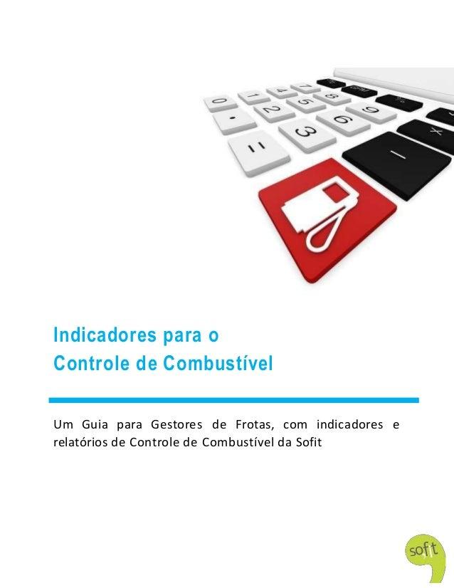 0 Indicadores para o Controle de Combustível Um Guia para Gestores de Frotas, com indicadores e relatórios de Controle de ...