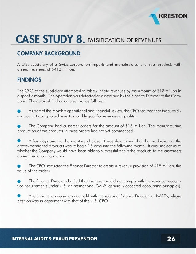 COBIT Case Study: Use of COBIT 5 for ISACA Strategy Implementation