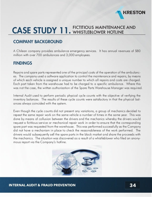 Case study all on the surface fraud
