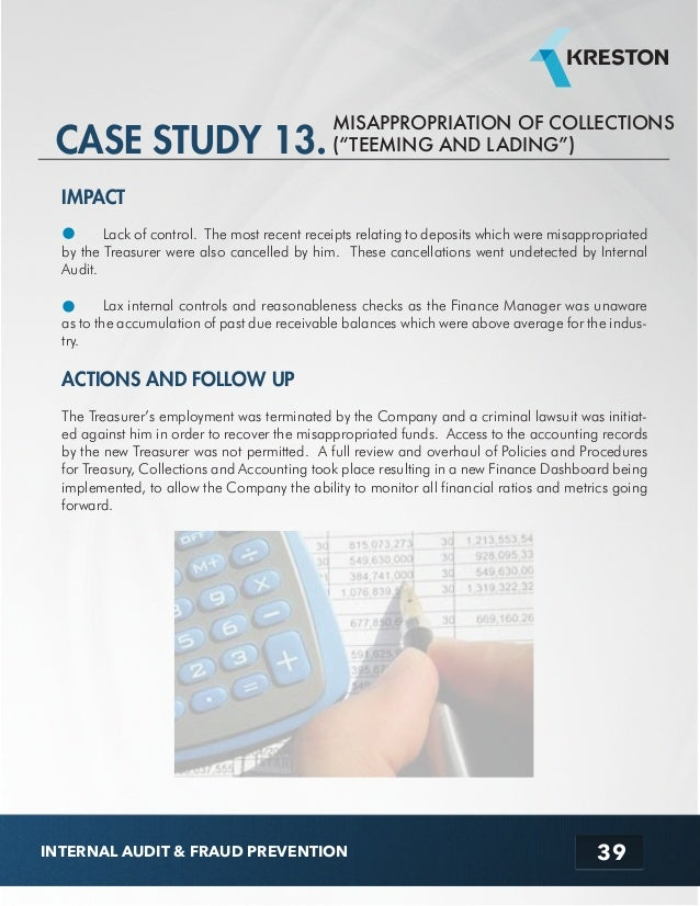 Ebook audit case study internal audit fraud prevention 40 fandeluxe Images