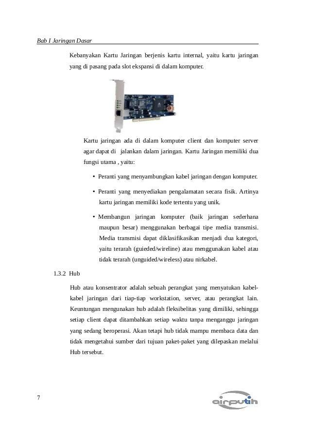 Ebook Belajar Jaringan Komputer