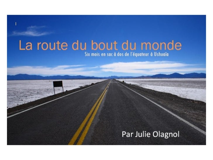 Ebook la route du bout du monde