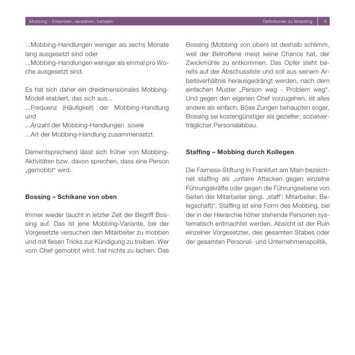 mobbing erkennen - Kndigungsbesttigung Arbeitgeber Muster