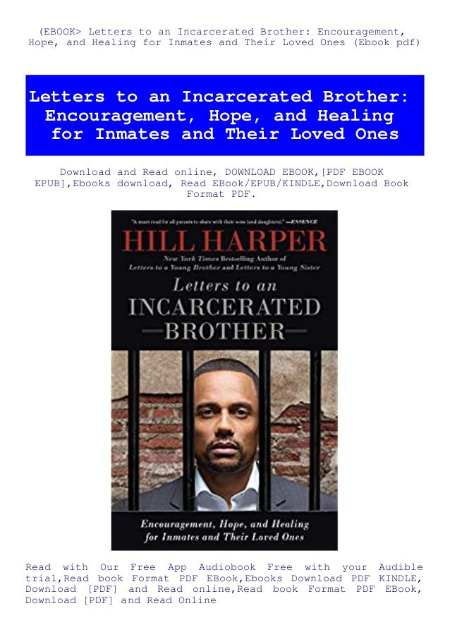 ebook letters to an incarcerated brother encouragement hope and healing for inmates and their loved ones ebook pdf 1 638