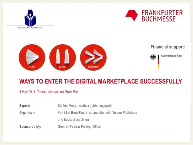 Master-Untertitelformat bearbeiten Mastertextformat bearbeiten WAYS TO ENTER THE DIGITAL MARKETPLACE SUCCESSFULLY 4 May 20...