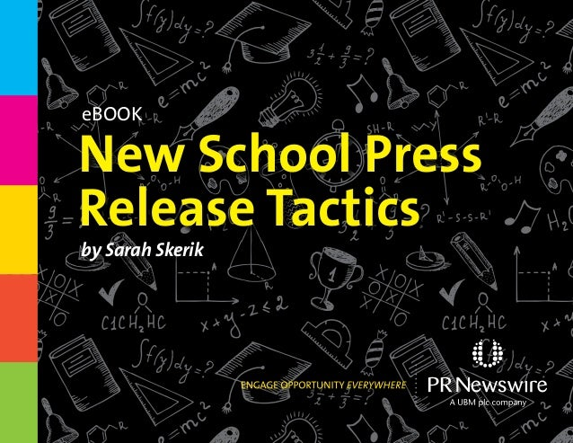 New School Press Release Tactics by Sarah Skerik eBook
