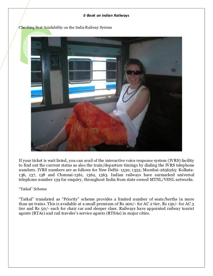Ebook On Indian Railways 2012