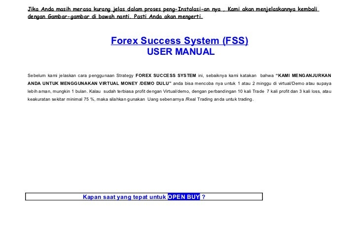 Ebook panduan forex success system v3