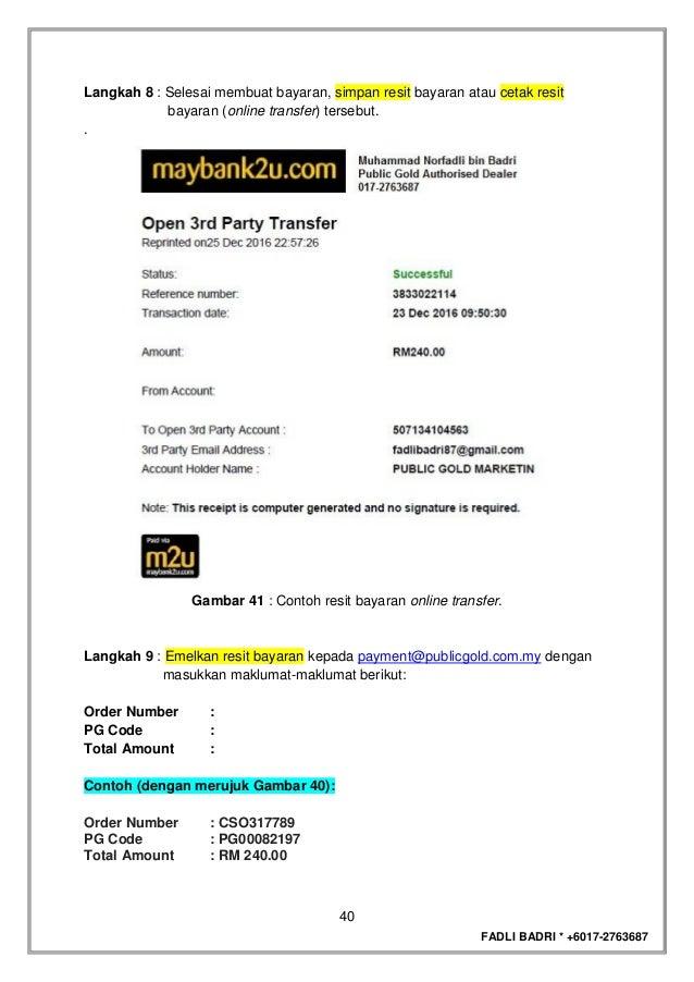Ebook Panduan Membeli Emas Public Gold V1 Fadli Peniaga Emas