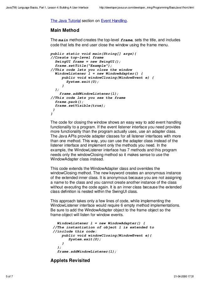 Pdf of java programming language