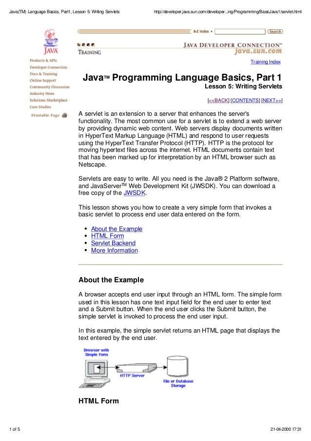 Examples pdf java basic programs
