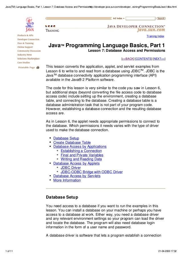 Java I/O Tutorial