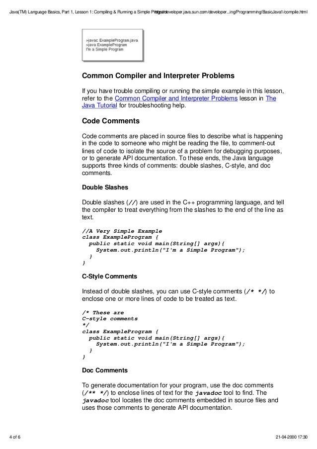 Java Programing Pdf