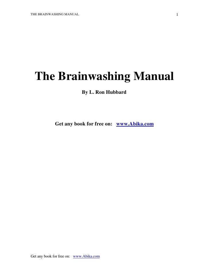 (Ebook   Pdf) The Brainwashing Manual