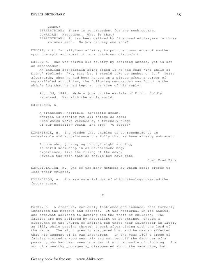 Ebook pdf the devils dictionary ebook pdf the devils dictionary fandeluxe Ebook collections