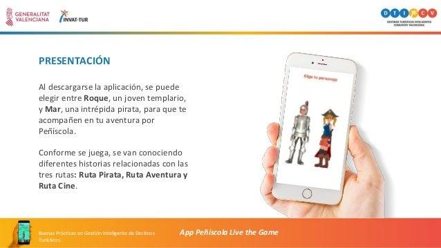PRESENTACIÓN Al descargarse la aplicación, se puede elegir entre Roque, un joven templario, y Mar, una intrépida pirata, p...