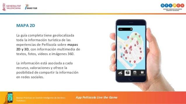 MAPA 2D La guía completa tiene geolocalizada toda la información turística de las experiencias de Peñíscola sobre mapas 2D...
