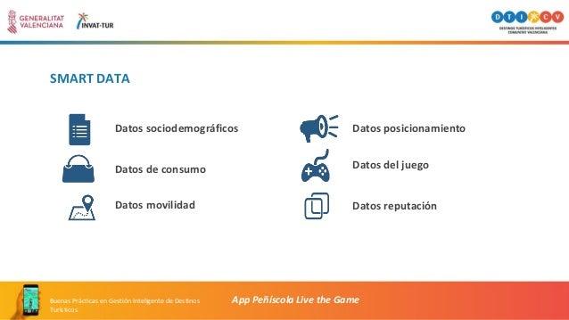 SMART DATA App Peñíscola Live the GameBuenas Prácticas en Gestión Inteligente de Destinos Turísticos Datos sociodemográfic...