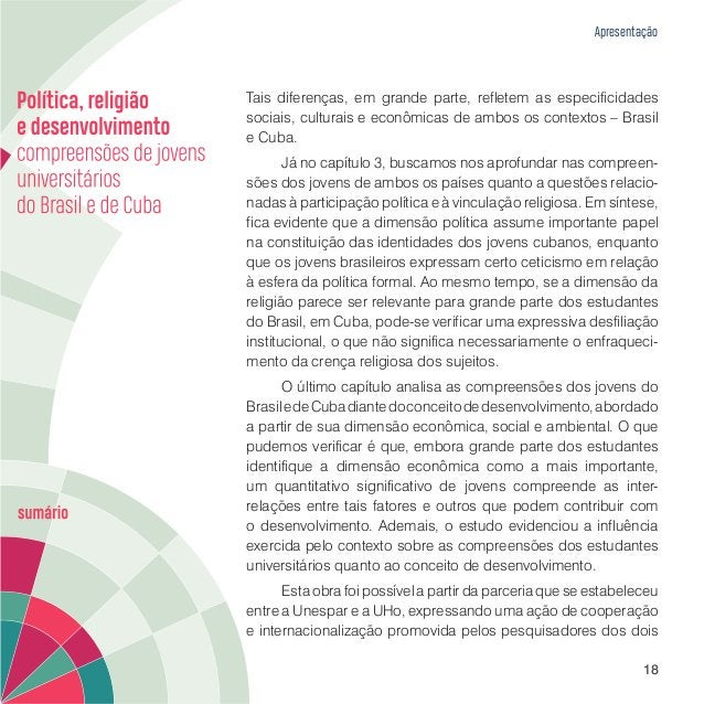 Capítulo 1 ENSINO SUPERIOR NO BRASIL E EM CUBA – APONTAMENTOS SOBRE A UNIVERSIDADE ESTADUAL DO PARANÁ E A UNIVERSIDADE DE ...