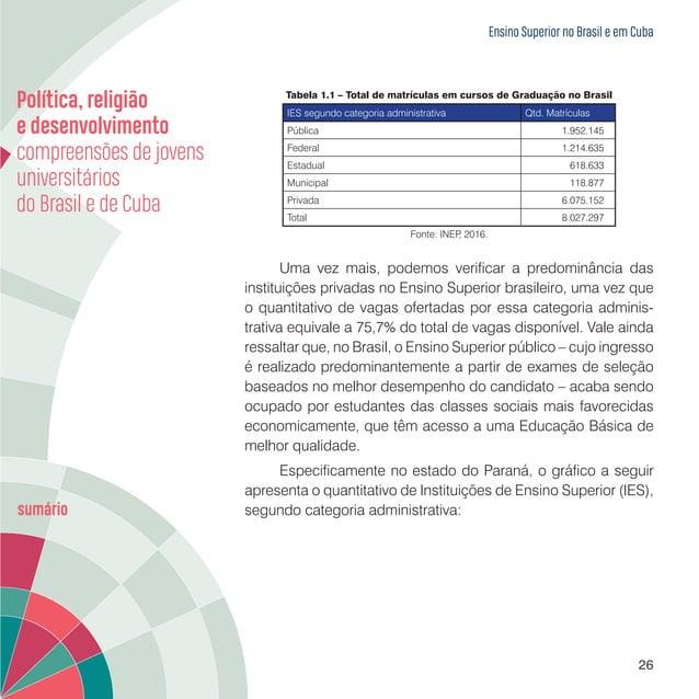 Ensino Superior no Brasil e em Cuba 28 Imagem 1.1 – Instituições Estaduais de Ensino Superior do Paraná Fonte: SETI/PR, 20...