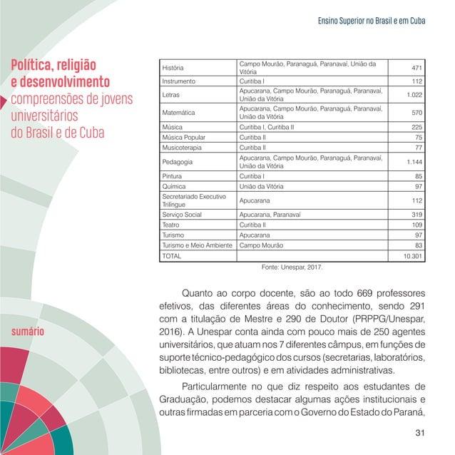 Ensino Superior no Brasil e em Cuba 33 Programa de Monitoria Acadêmica Visa a melhoria dos processos de ensino e aprendiza...