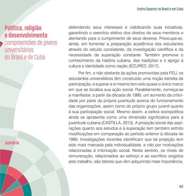 Jovens universitários da Universidade Estadual do Paraná e da Universidade de Holguín 44 Neste capítulo buscamos traçar um...