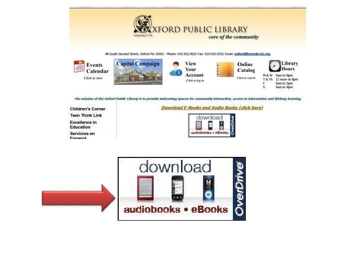 OverDrive eMedia Catalog