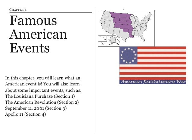 American Symbols People And Events