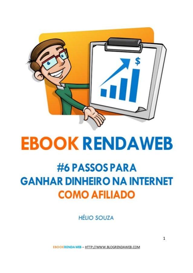 1 EBOOKRENDAWEB – HTTP://WWW.BLOGRENDAWEB.COM