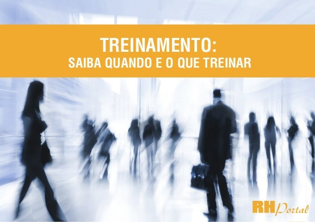 1rhportal.com.br Treinamento: saiba quando e o que treinar