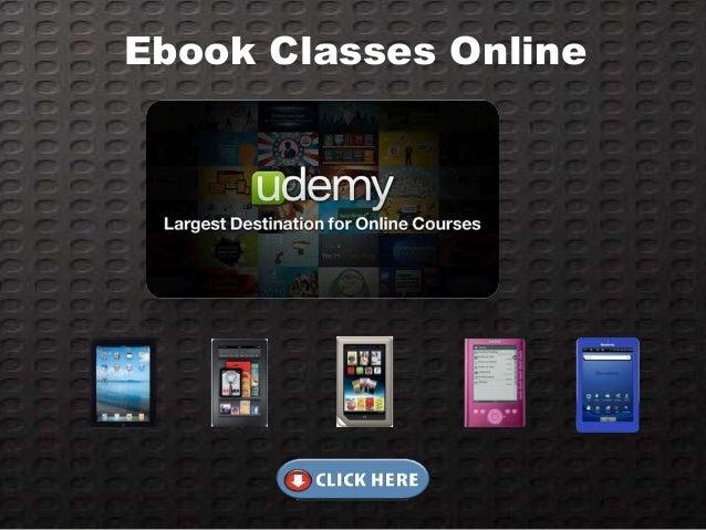 Ebook Classes Online