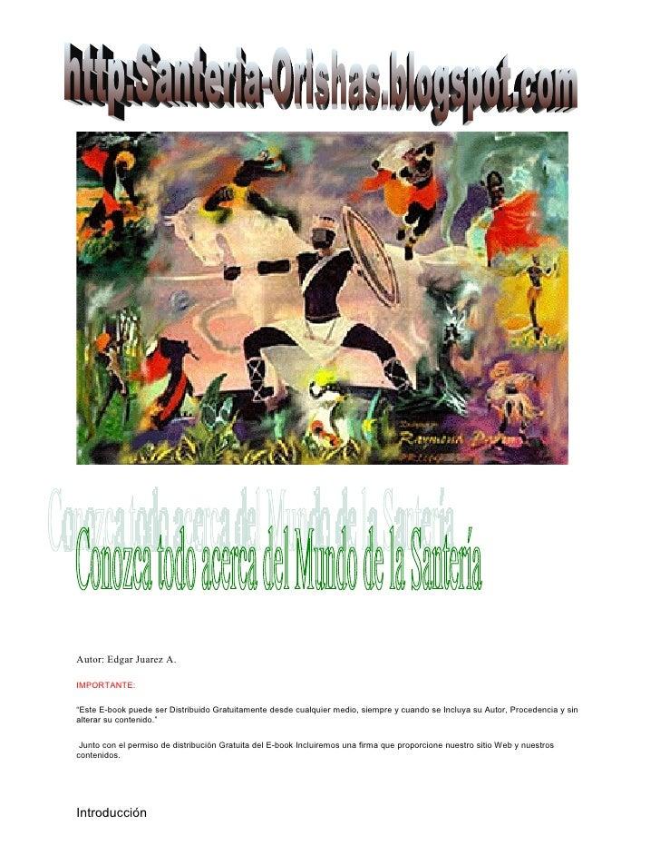 """Autor: Edgar Juarez A.  IMPORTANTE:  """"Este E-book puede ser Distribuido Gratuitamente desde cualquier medio, siempre y cua..."""