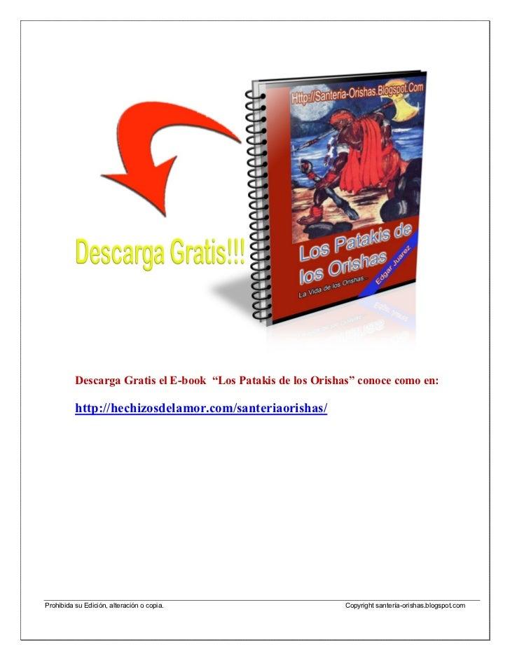 """Libro Electronico """"La Santeria y sus Orishas"""" (actualizado)"""