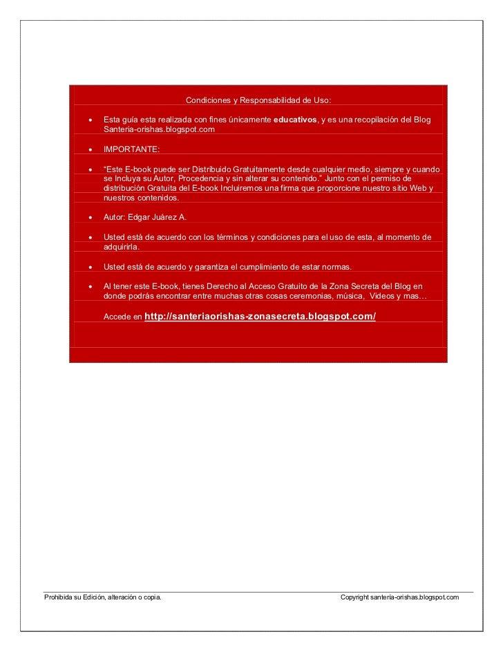"""Libro Electronico """"La Santeria y sus Orishas"""" (actualizado) Slide 3"""