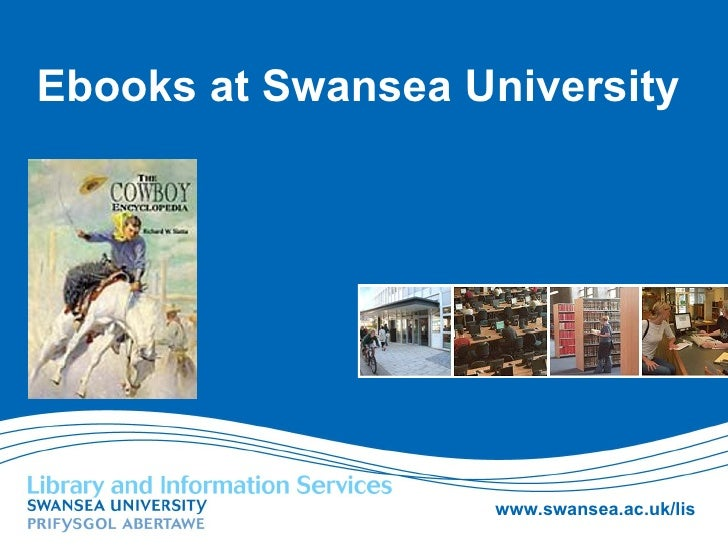 Ebooks at Swansea University
