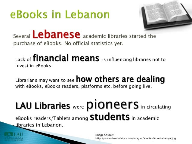 Ebooks challenges and opportunities in academic library a case study 33 fandeluxe Choice Image