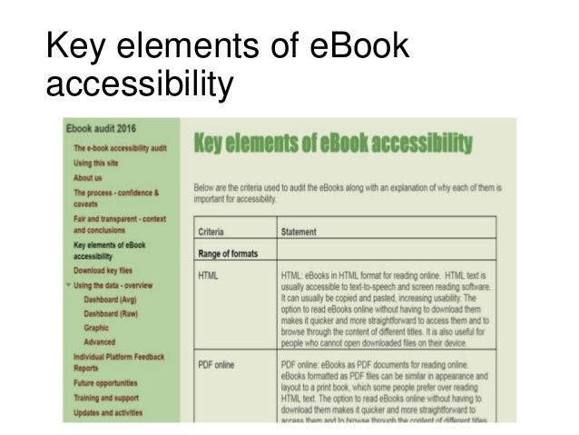 Uksg webinar ebooks now an introduction to managing ebooks and cons individual platform feedback reports example 36 fandeluxe Image collections