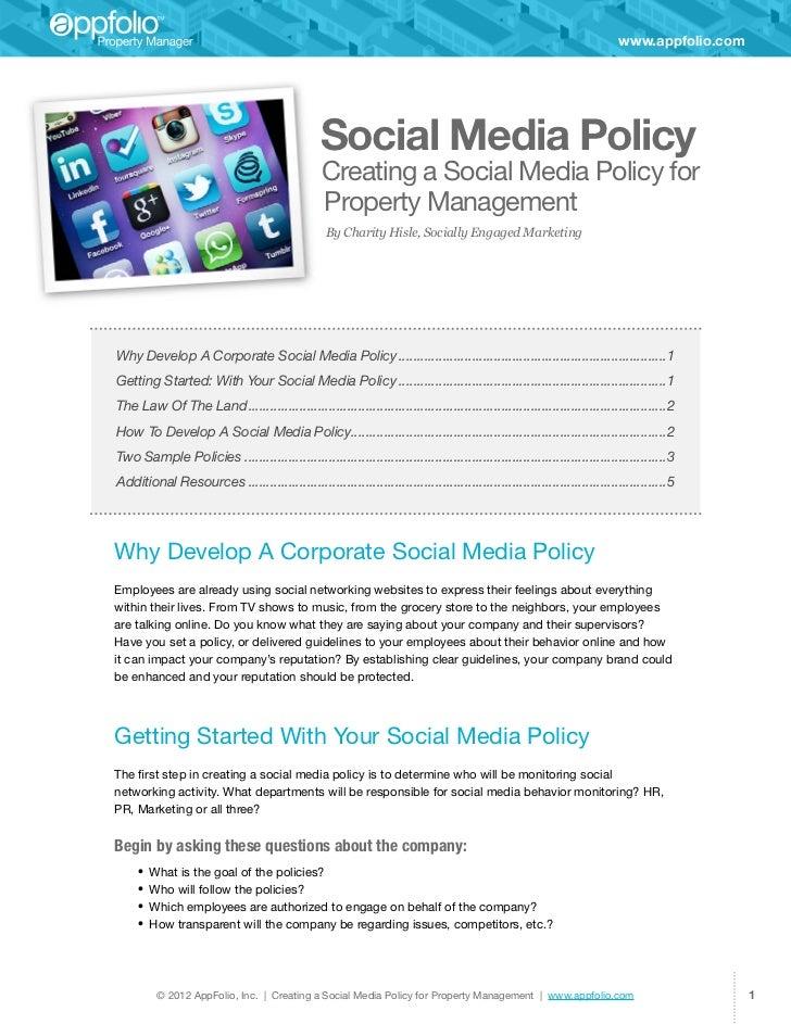 www.appfolio.com                                                 Social Media Policy                                      ...
