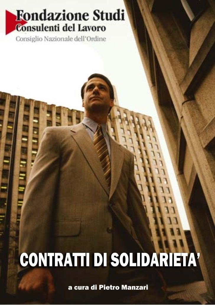 SommarioDefinizione                                      31. Contratto di solidarietà difensivo            4          1.1 ...