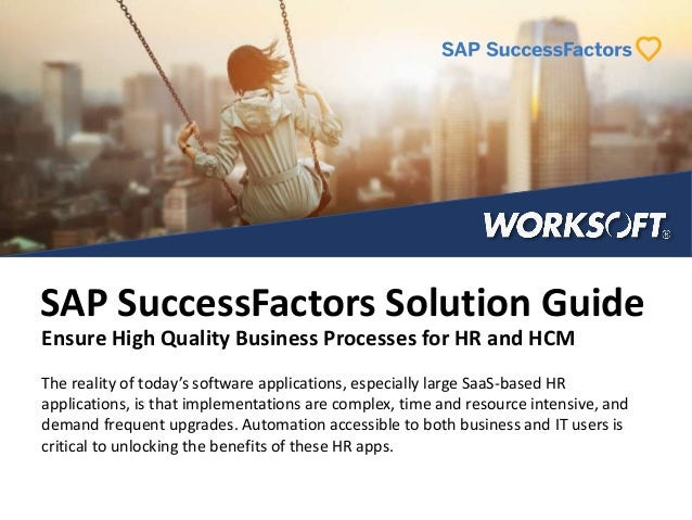 Testing Guide for SAP SuccessFactors