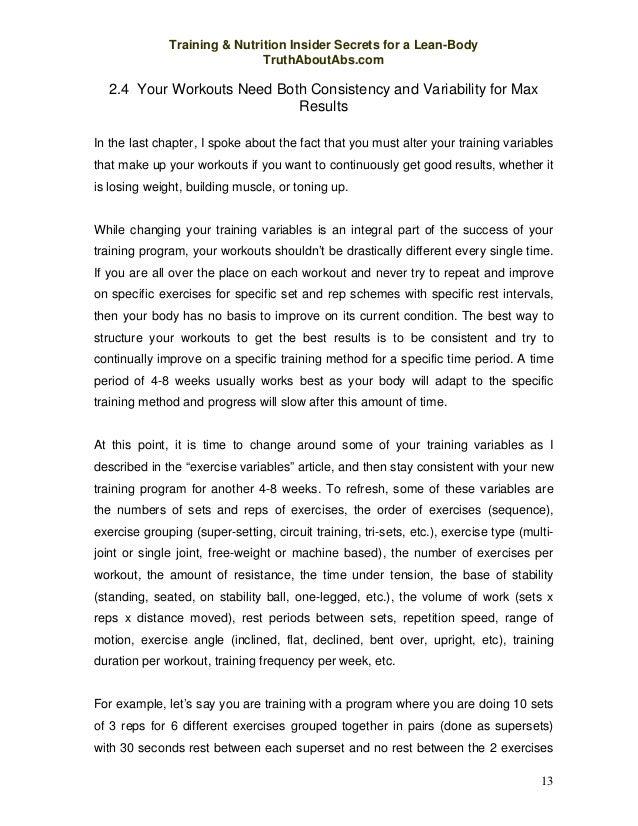 Ebook training nutrition secrets pdf 12 15 fandeluxe Gallery