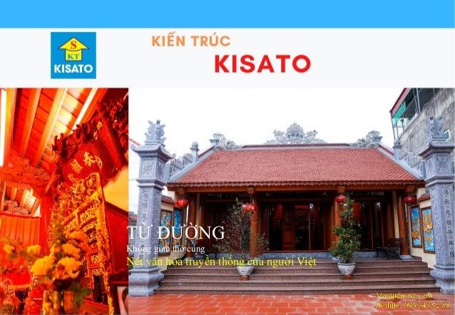 Mautuduong.com Hotline:096.345.92.88 TỪ ĐƯỜNG Không gian thờ cúng Nét văn hóa truyền thống của người Việt
