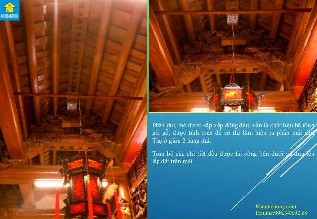 Mautuduong.com Hotline:096.345.92.88 Phần dui, mè được sắp xếp đồng đều, vẫn là chất liệu bê tông giả gỗ, được tính toán đ...
