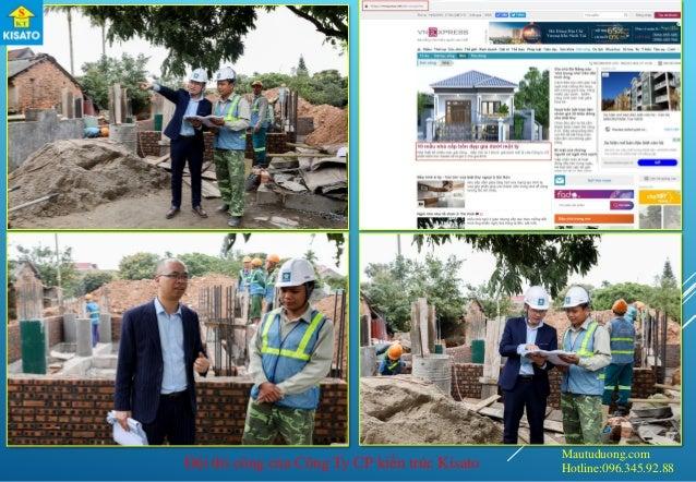 Mautuduong.com Hotline:096.345.92.88Đội thi công của Công Ty CP kiến trúc Kisato