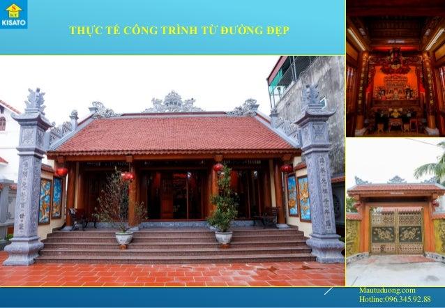 Mautuduong.com Hotline:096.345.92.88 THỰC TẾ CÔNG TRÌNH TỪ ĐƯỜNG ĐẸP