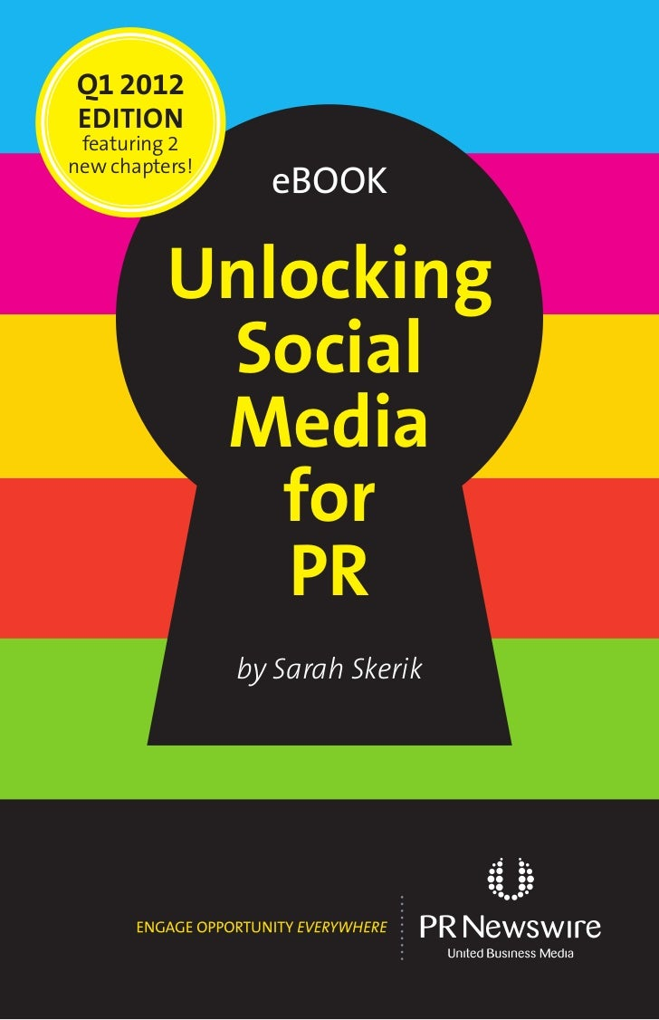 Q1 2012 EDITION featuring 2new chapters!                  eBook          Unlocking           Social           Media       ...