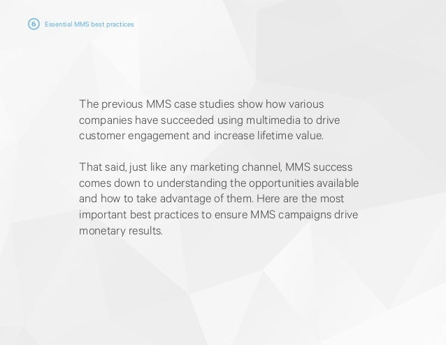 The Essential Guide to Using MMS
