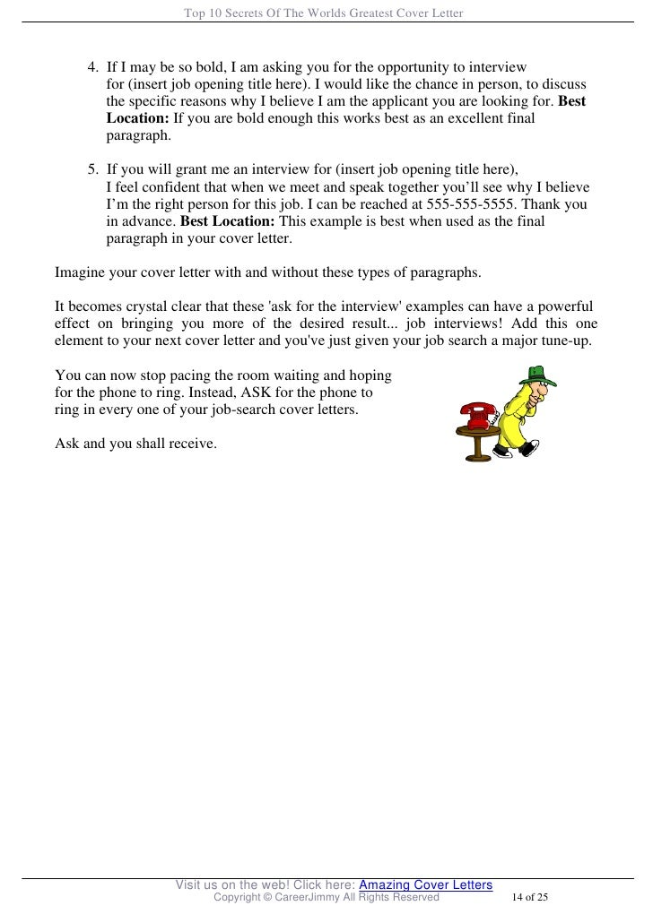 cover letter opening paragraphs